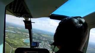 preview picture of video 'Bell 206B Jet Ranger Rundflug Bad Vöslau - Kahlenberg - Wien - Flughafen Wien'
