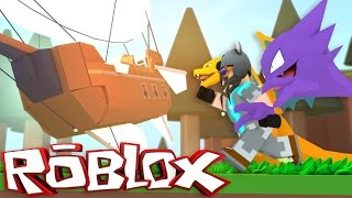 AN AIRSHIP!?!? | Pokémon Brick Bronze [#22] | ROBLOX