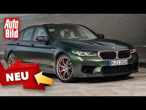 BMW M5 CS (2021) | Der stärkste Serien-M aller Zeiten im Check |Sitzprobe mit Alexander Bernt