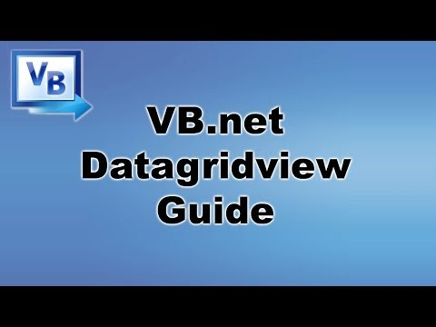 [ Tutorial ] DataGridView – VB.net / Visual Basic Programming