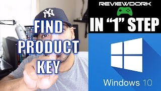 How to Find Windows 10 Product Key (IN ONE STEP)