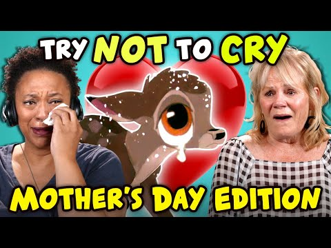 Download Moms React To Try Not To Cry Challenge (Mother's Day) HD Mp4 3GP Video and MP3
