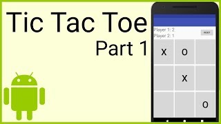 How To Make A Tic Tac Toe Game In Android   Part 1   THE LAYOUT   Android Studio Tutorial