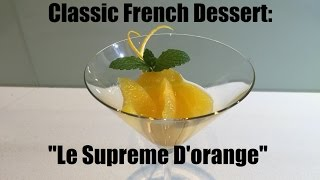 How to cut skinless quarters of oranges & Citrus – how to make supreme of orange