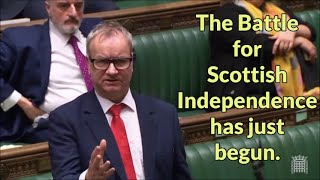 Pete Wishart MP speaks on Scottish Independence in the UK House of Commons
