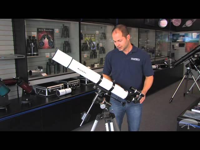 Orion AstroView 90mm Equatorial Refractor Telescope - 09024