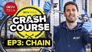 Как установить и обслуживать цепь вашего велосипеда | Технический ускоренный курс GCN, серия 3