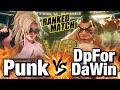 スト5 パンク vs 猛者本田 Punk Poison vs DpForDaWin E Honda SFV