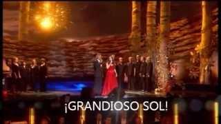 canto della terra Andrea Bocelli y Sara Brightman subtitulado