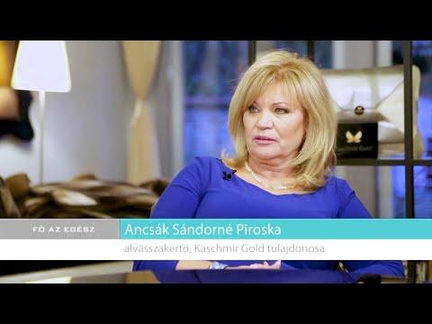 Kaschmir Gold a Fő az egészség című műsorban