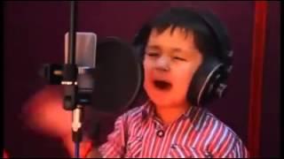 Müthiş Ses-Afgan çocuğu Dediğimiz Özbek çocuk Cora-beğ Corayev