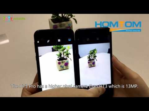 Comparison between the HOMTOM HT3 and HT3 Pro video