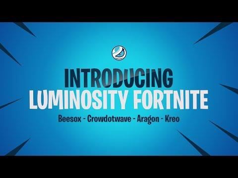 Luminosity sign a Fortnite team