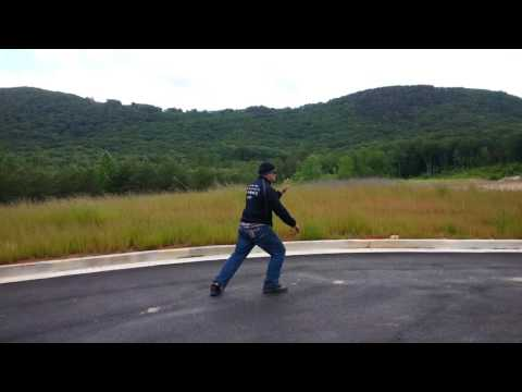 High Elevation Tai Chi in the mountains of Cleveland Georgia. Traditional Fu Style.