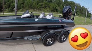 Everything I wanted!! 2017 Skeeter Zx250 Walk Through Buying A Bass Boat VLOG