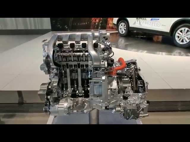 Фото к видео: Nissan X-Trail 20X Hybrid MR20DD Cutaway Engine