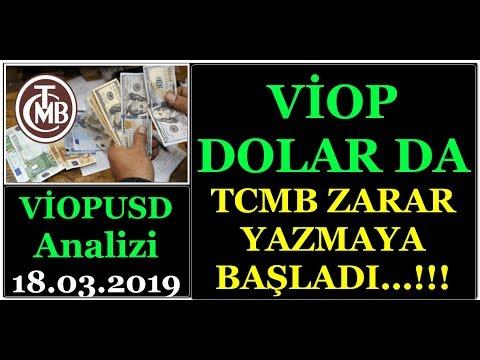#VİOP #DOLAR DA MERKEZ BANKASI ZARAR YAZMAYA BAŞLADI...!!! BU NE ANLAMA GELEBİLİR...? (видео)
