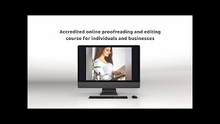 Proofreading course video