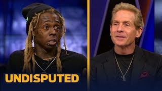 Lil Wayne stops by to talk Packers' big game, NFL MVP favorites and Carson Wentz | NFL | UNDISPUTED