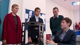 Генеральный директор АСИ Светлана Чупшева посетила новгородскую школу №36