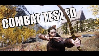 COMBAT TESTED! | SKYRIM LORD OF THE RINGS 600+ MODS | Ara-Celebrian Gameplay Part 2 [PC - HD]