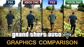 GTA V Graphics Comparison Video: PS4 / Xbox One / PS3 / Xbox 360