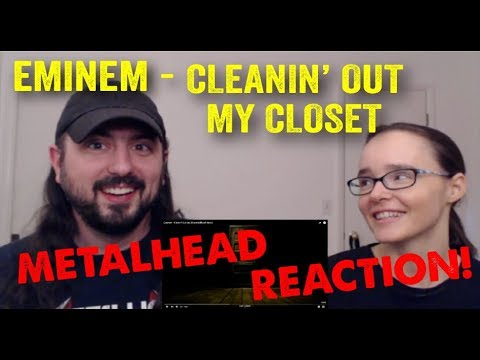 Cleanin' Out My Closet - Eminem (REACTION! by metalheads)