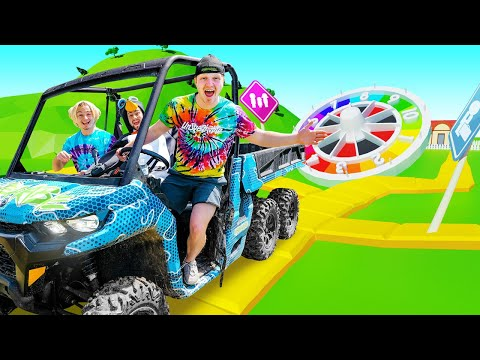 World's BIGGEST Game Of LIFE Gameboard Challenge!