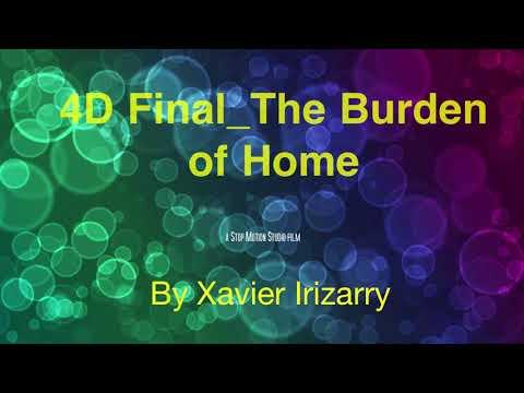 4D Final The Burden of Home