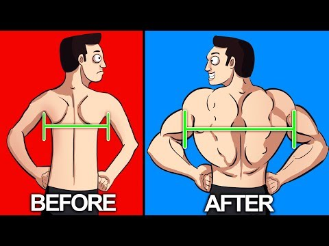 8 BEST Exercises For a WIDER BACK!