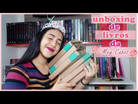 UNBOXING | PROMOÇÃO SUBMARINO | Meg Cabot | Leticia Ferfer | Livro Livro Meu