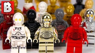 Every Lego Protocol Droid Ever Made!!! | Star Wars Collection Review