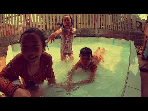 เด็กเล่นน้ำ สนุกมาก | พี่ฟ้าน้องโฟล์ค