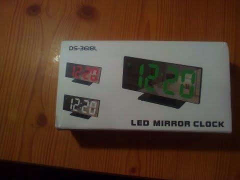 Led Mirror Clock DS-3618L Не работают.