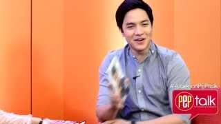 "PEPtalk. Alden Richards Wants To Be Himself: ""Lets Not Be Showbiz All The Time It's Pathetic."""