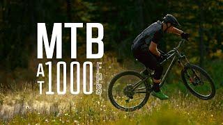 Mountain Biking at 1000 FPS