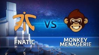 HGC 2018 EU – Phase 2 Week 10 - Fnatic vs. Monkey Menagerie - Game 2