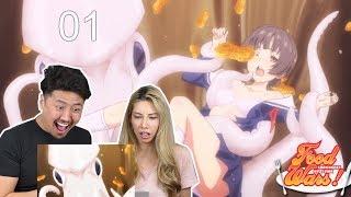 Shokugeki No Soma – Episode 1 BLIND REACTION!! Kimchi and Tofu