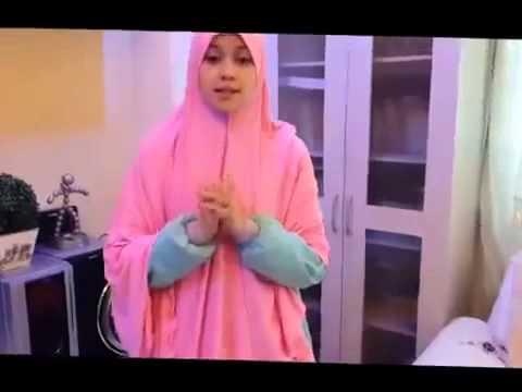 Video Tutorial Hijab Paris Segi Empat Simple Untuk Kerja yg SYAR'I #2
