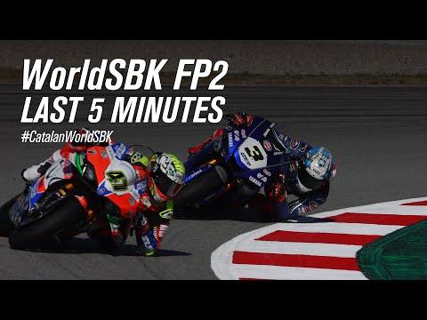スーパーバイク世界選手権 SBK 第9戦スペイン(カタロニア・サーキット)FP2のハイライト動画