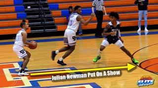 Julian Newman Shoots From The LOGO! Drops 31 Points Vs Bella Vista