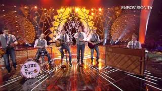 Sjonni's Friends - Coming Home (Iceland) - Live - 2011 Eurovision Song Contest Final