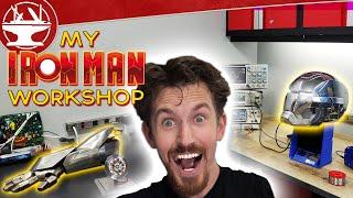 Building Iron Man's Workshop!
