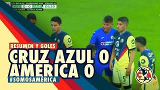 Resumen | Cruz Azul 0-0 América | GUARD1ANES 2020