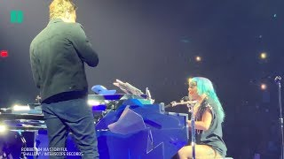 Lady Gaga And Bradley Cooper Perform 'Shallow' Duet in Vegas