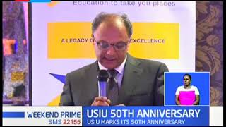 USIU 50th Anniversary: Improve training skills to meet ever growing demands