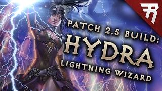 Diablo 3 2.6 Wizard Build: Lightning Hydra GR 97+ (Guide, PTR, Season 11)