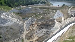 Calaveras Dam Replacement Project Timelapse: October 2017