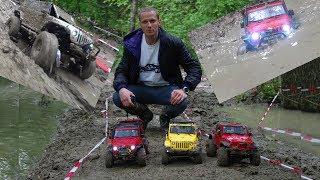 Сочи. Внедорожники 4х4 по бездорожью и грязи, радиоуправляемые машины. Трофи RC CAR. Дед Вадим.