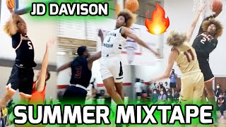 JD Davison Was Showing NO MERCY This Summer! Finishes AAU Career With A BANG! Full Summer Mixtape 🔥